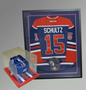 memorabilia-framing, J & S Picture Frame Warehouse, Saskatoon